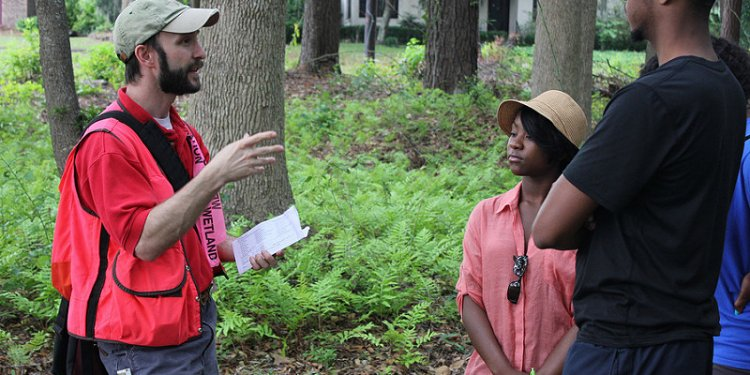 Corps hosts wetlands field exercise at Savannah State University