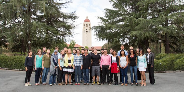 Photo of GSE Doctoral students