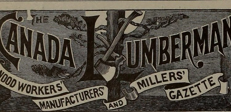 Image from page 595 of Canadian forest industries 1897-1899 (1899