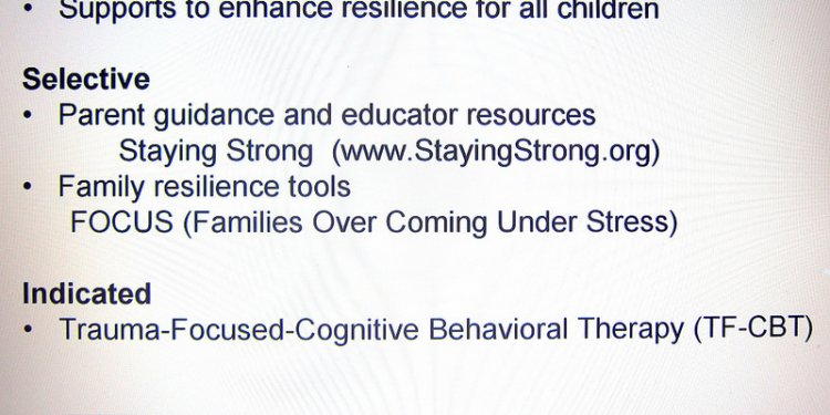Military family children programs, school supports family resilience training, Recognizing Physical Child...