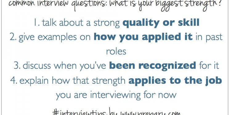 Common interview questions: